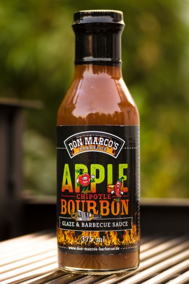 Apple, Chipotle, Bourbon Glaze & BBQ Sauce, 375ml