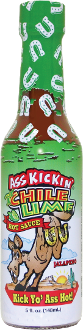 Ass Kickin' Chile Lime Hot Sauce, 148ml