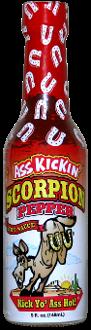 Ass Kickin' Scorpion Pepper Hot Sauce, 148ml