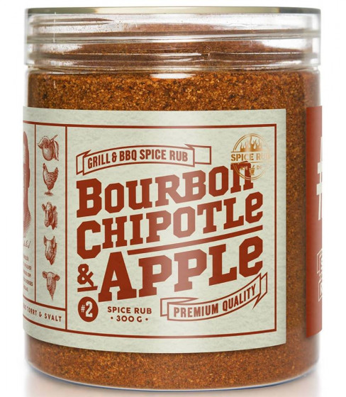 Bourbon, Chipotle and Apple - Spice Rub, 300g
