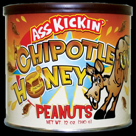 Ass Kickin' Chipotle Honey Peanuts