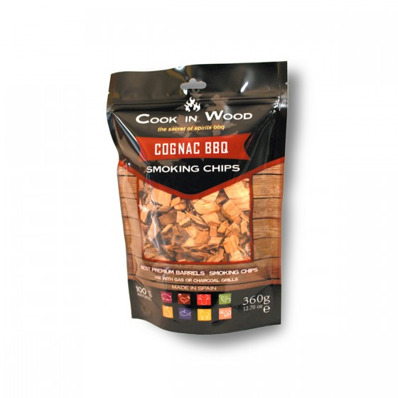 Cognac BBQ Smoking Chips, 360g