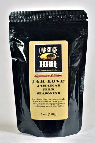 Oakridge Signature Edition Jah Love Jamaican Jerk Seasoning, 170g