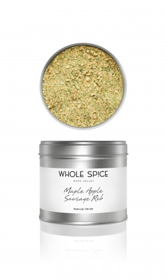 Whole Spice - Maple Apple Sausage Rub, 150g
