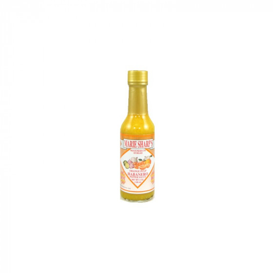 Marie Sharp's Orange Pulp Habanero Hot Sauce, 148ml
