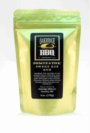 Dominator Sweet Rib Rub, 170g