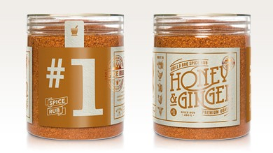 Honey & Ginger - Spice Rub, 270g