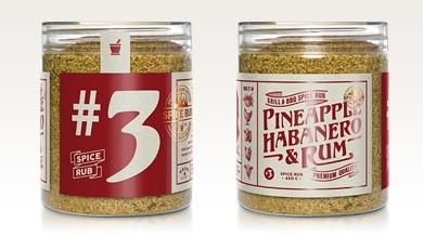 Pineapple, Habanero & Rum - Spice Rub, 300g