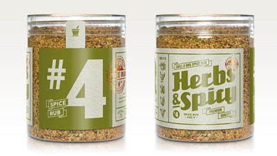 Herbs & Spicy - Spice Rub, 240g