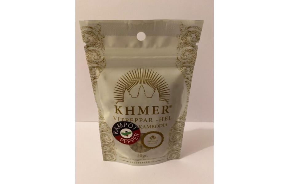KHMER - KAMPOT VITPEPPAR (50G)