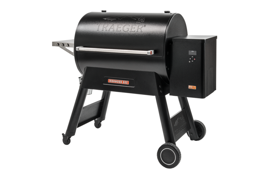 TRAEGER IRONWOOD 885 PELLETS GRILL MED WIFIRE KONTROLL