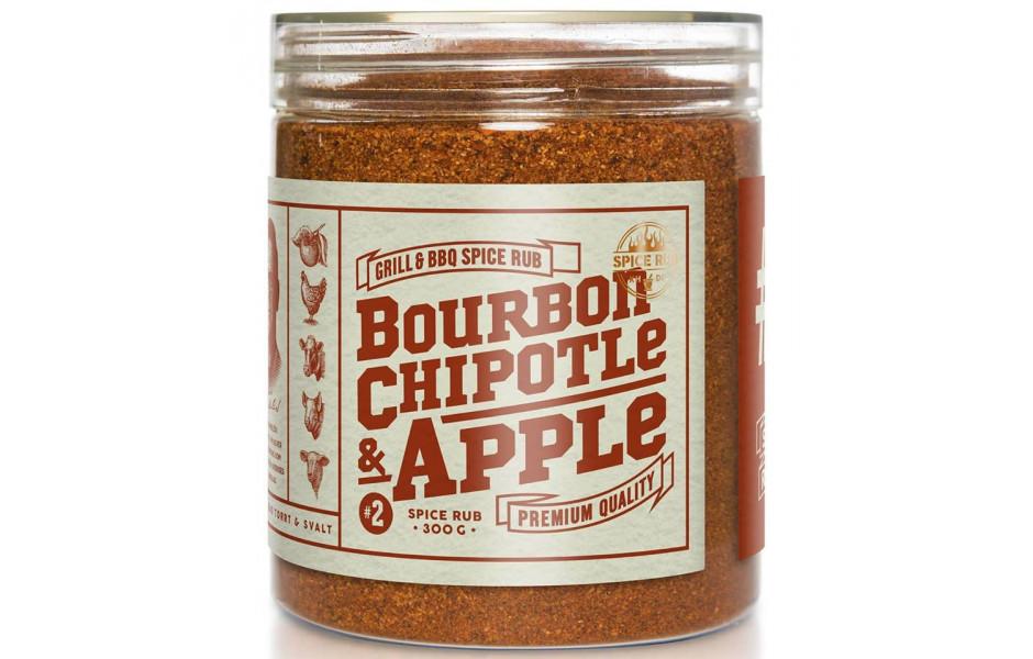 Bourbon, Chipotle and Apple - Spice Rub, 290g