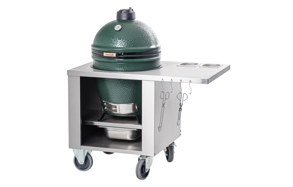 Stainless Steel Unit, Big Green Egg