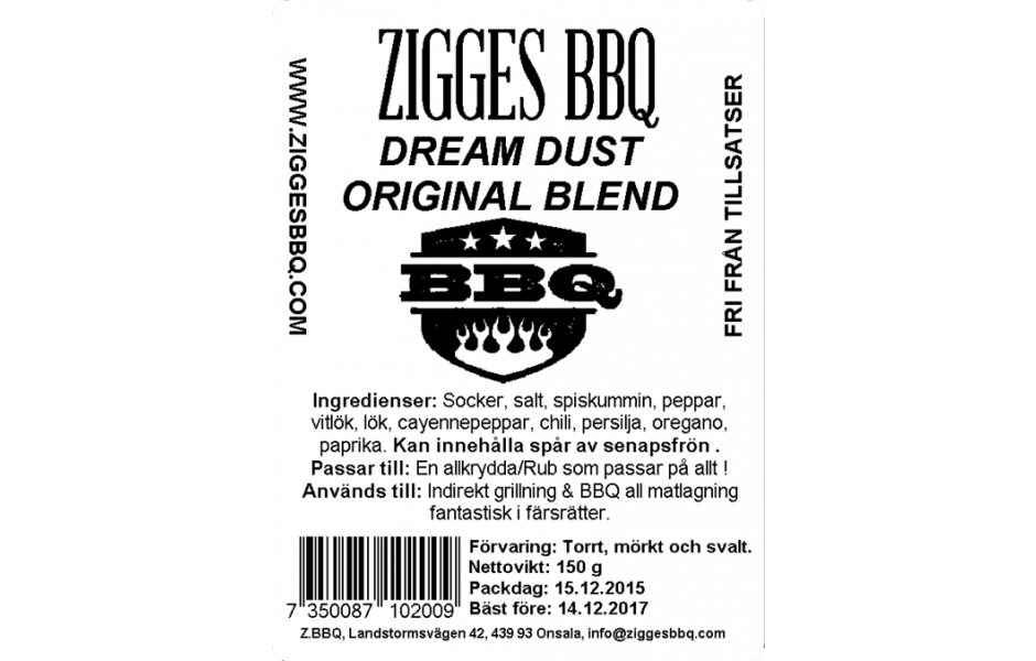 Dream Dust - Original Blend, 150gr