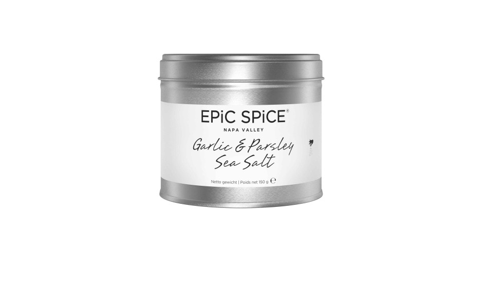 Epic Spice - Garlic & Parsley Sea Salt, 150g