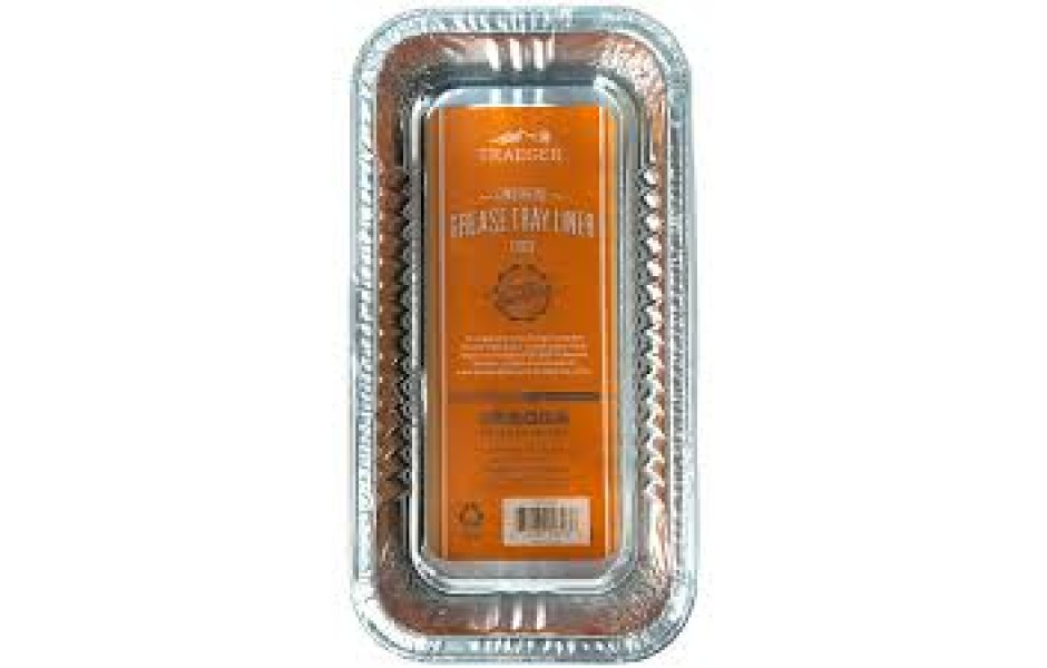 TRAEGER TIMBERLINE FETTUPPSAMLARE / GREASE PAN I ALUMINIUM, 5 PACK