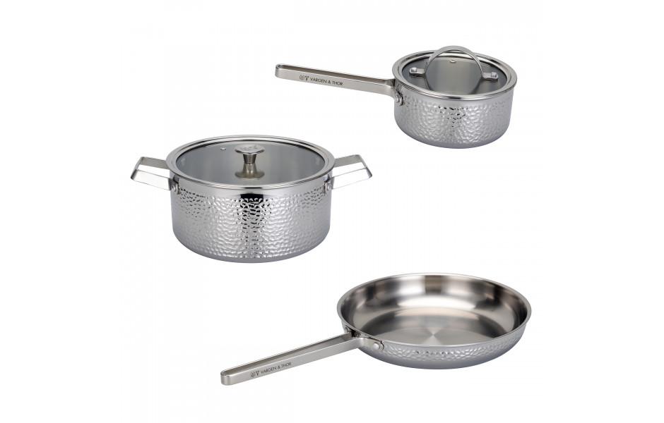 KROMA – Set, 3st kokkärl i KROMA
