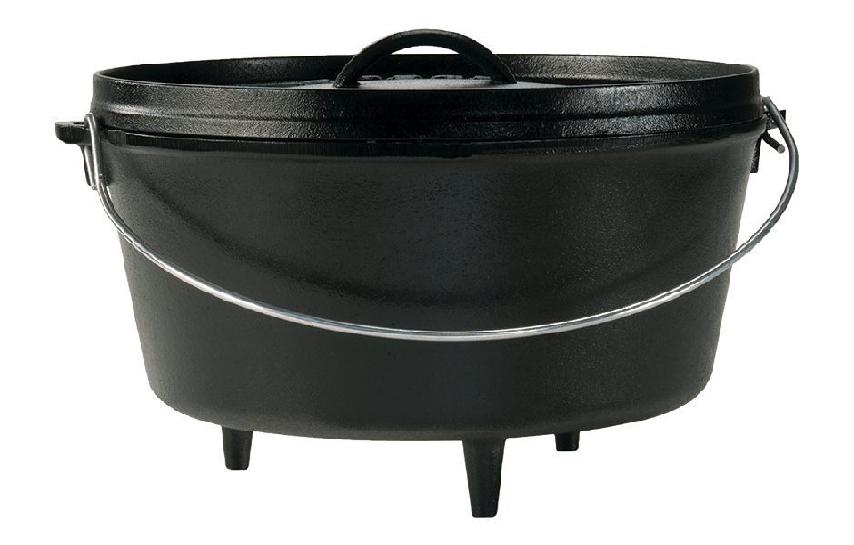LODGE Deep Camp Dutch Oven, 7.6 liter