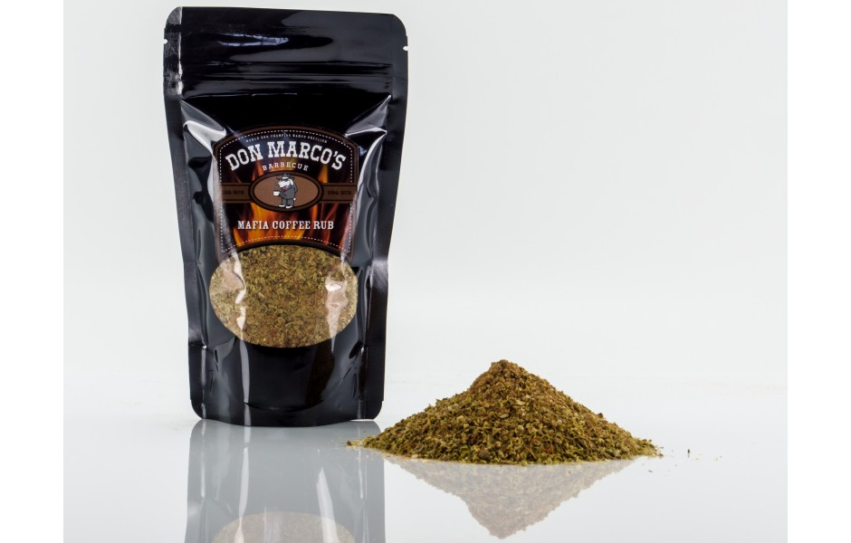 Don Marco's Mafia Coffee Rub, 180g
