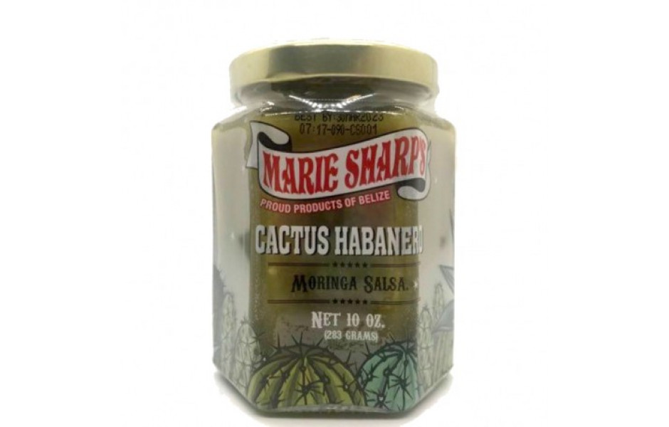 MARIE SHARP'S CACTUS MORINGA HABANERO SALSA, 283gr