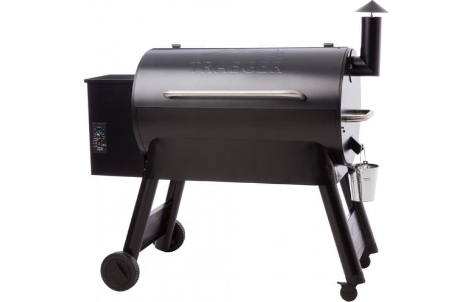 TRAEGER PRO SERIES 34 BLUE BBQ SMOKER PELLETS GRILL