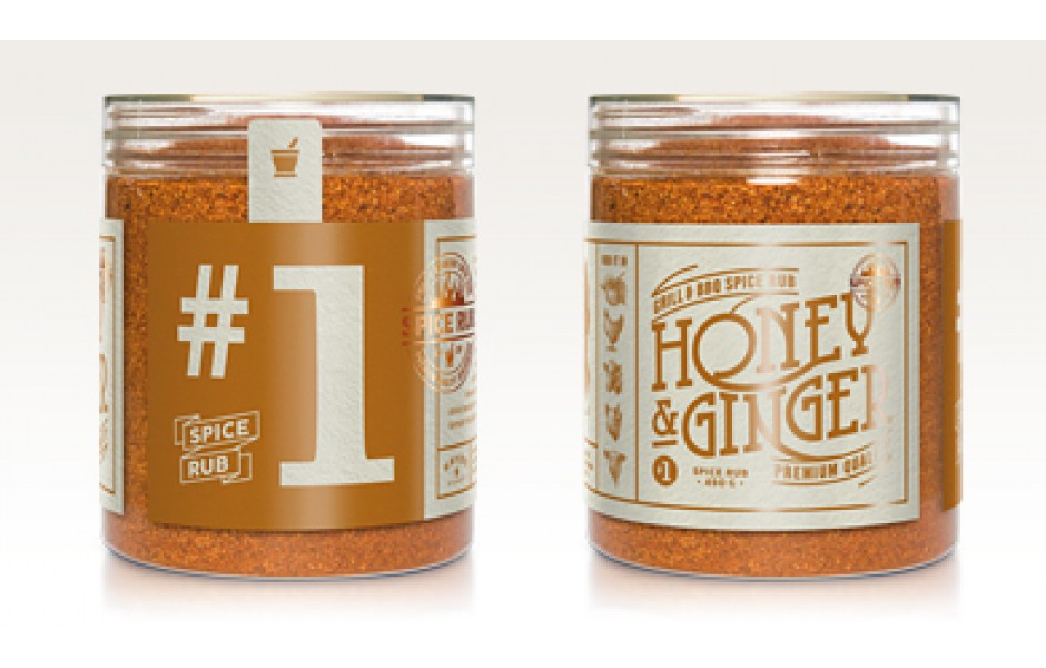 Honey & Ginger - Spice Rub, 300g