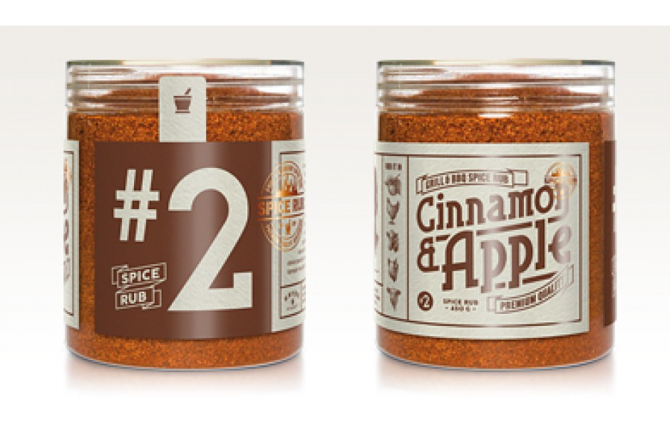 Cinnamon & Apple - Spice Rub, 300g