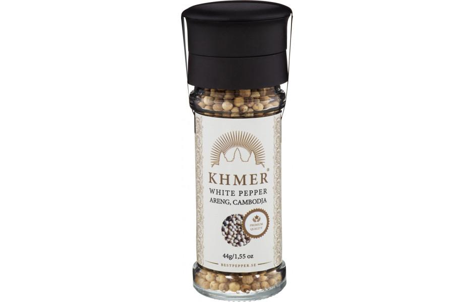KHMER - VITPEPPAR KVARN 44G