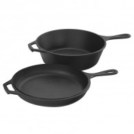 Lodge Cast Iron Combo Cooker 3 l