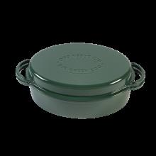Green Dutch Oven, Oval 35cm