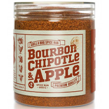 Bourbon, Chipotle and Apple - Spice Rub, 290g