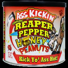 Ass Kickin' Carolina Reaper Pepper Honey Peanuts