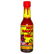 Habanero Hot Sauce from HELL