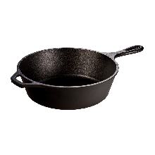 LODGE Cast Iron Deep Skillet, 26cm