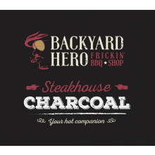 Backyard Hero Steakhouse Charcoal