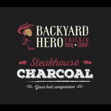 Backyard Hero Steakhouse Charcoal