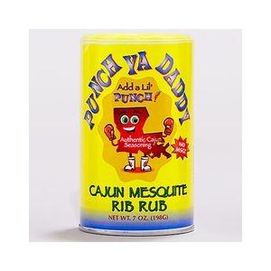 Punch ya daddy Cajun Mesquite Rib Rub 198gr