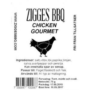 Chicken Gourmet, 125gr