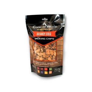 Brandy BBQ Smoking Chips, 360g