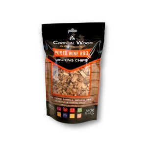 Porto Wine BBQ Smoking Chips, 360g