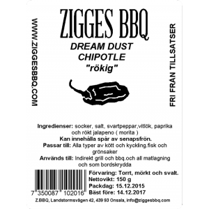 Dream Dust - Chipotle, 150gr