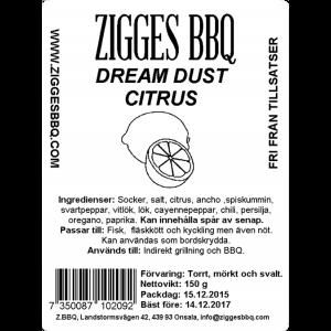 Dream Dust Citrus, 150gr