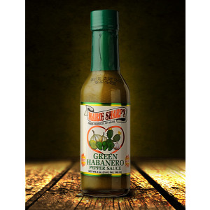 Marie Sharp's Green Habanero Pepper Sauce, 148ml