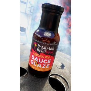Backyard Hero Original BBQ Sauce & Glaze, 250ml