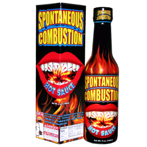Spontaneous Combustion Hot Sauce, 148ml