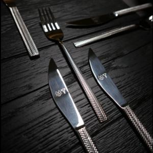 GLÖD Steakset, 8 delar