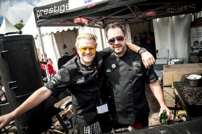 Andreas & Johan Grill & BBQ VM 2015